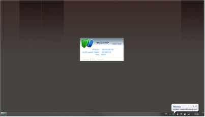 WEZARP CLIENT FOR WINDOWS LAUNCHING